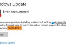Photo of Исправить ошибку Центра обновления Windows 0x80240023 в Windows 10