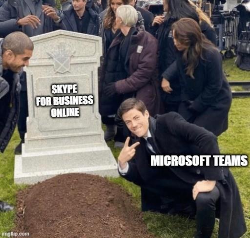 Skype для бизнеса прекращает работу