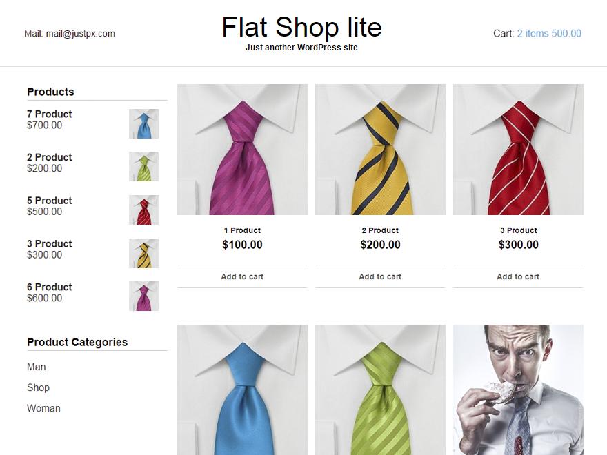 Flat Shop lite