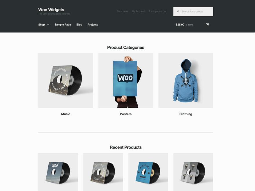 бесплатный шаблон интернет магазина wordpress