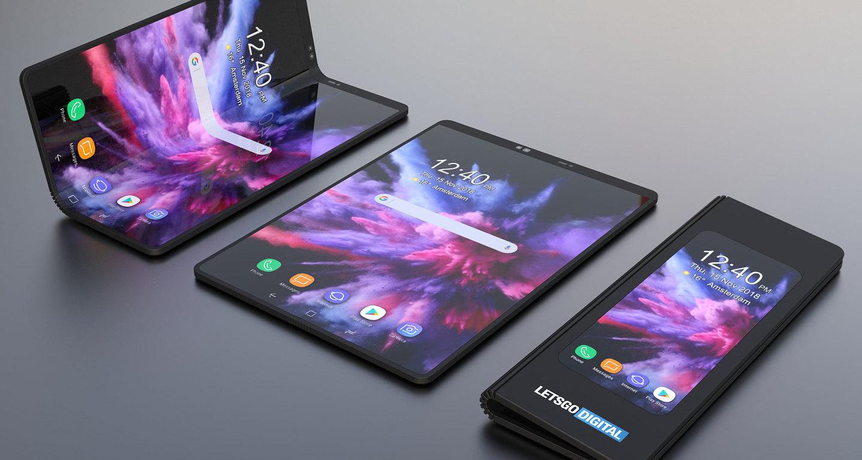 Photo of Следующий Samsung Galaxy Fold сможет сложиться пополам