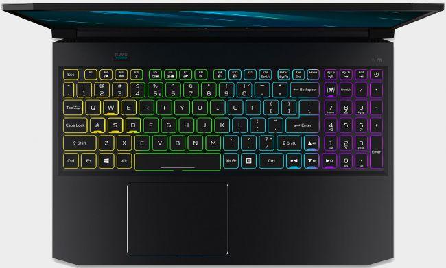 Predator Triton 300 клавиатура