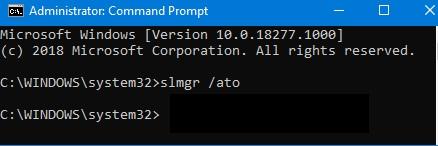 активировать Windows 10  в командной строке