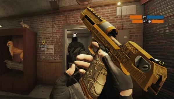 Golden Gun Rainbow Six Siege