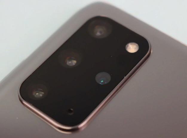 Камера Samsung Galaxy S20+