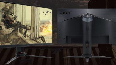 Photo of Acer выпускает два игровых монитора IPS 240 Гц