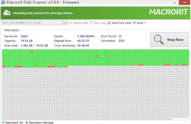 Macrorit Disk Scanner для Windows