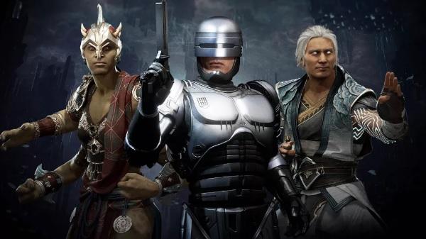 Sheeva, Fujin и Nightwolf  в Aftermath  MK11