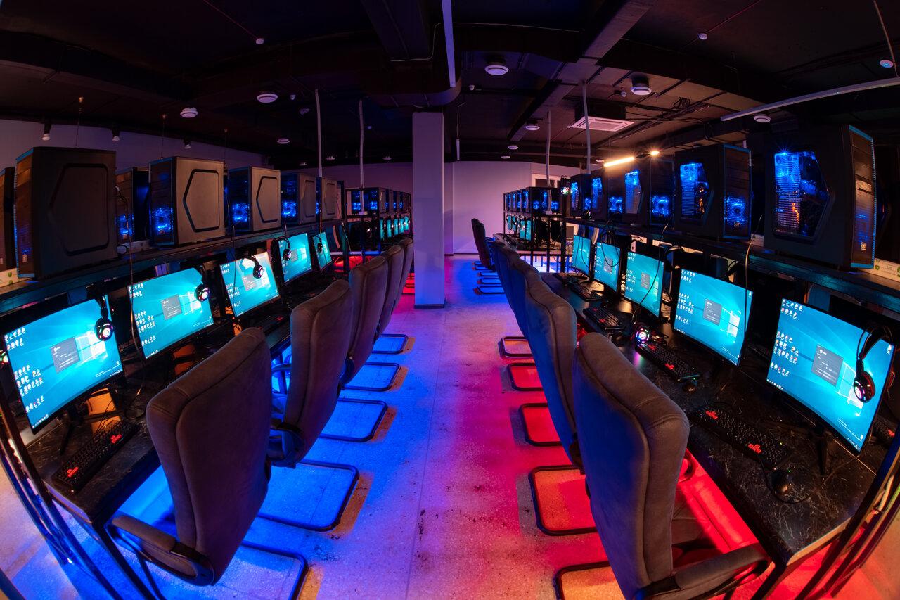 компьютерный игровой салон