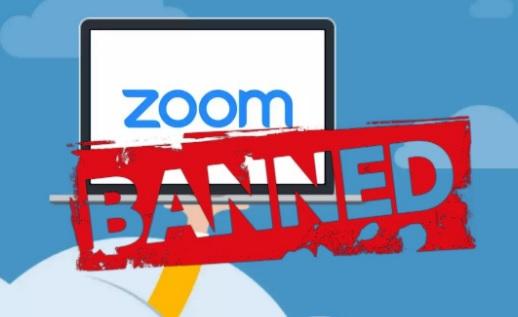 Zoom заблокировал учетную запись