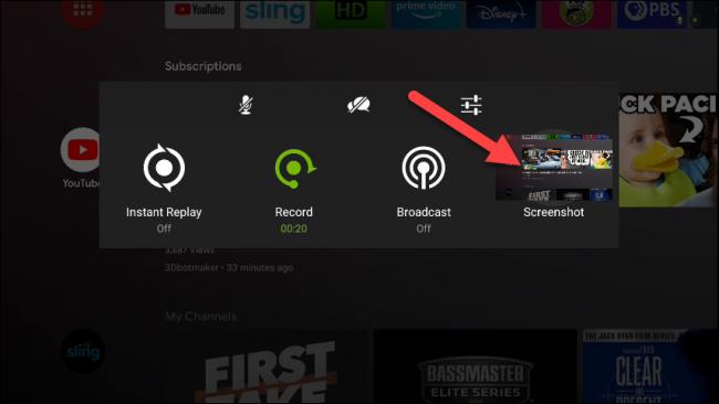 Как сделать скриншот экрана Nvidia Shield