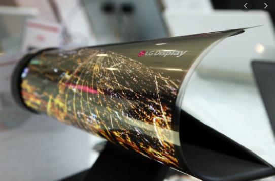 LG представила гибкие экраны на выставке SID 2020