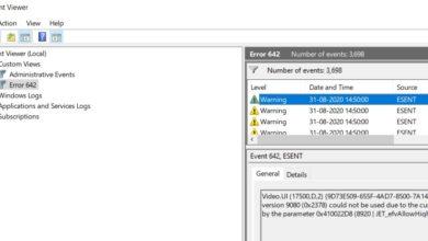 Photo of Microsoft заявляет, что исправит ошибку ESENT 642 в Windows 10