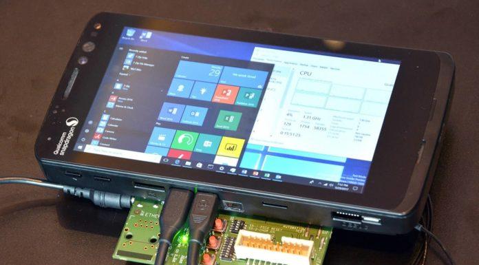 Windows 10 на ARM настроена на эмуляцию