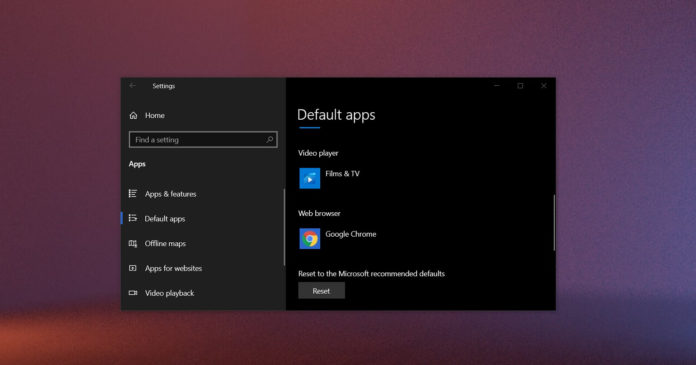 Windows 10 начнет продвигать Microsoft Edge через приложение настроек