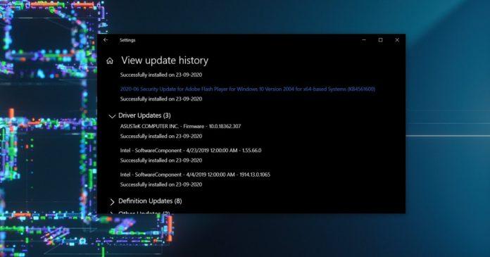 Windows начала установку старых и неподходящих драйверов на некоторые устройства