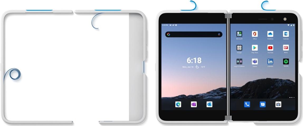 чехол для Surface Duo
