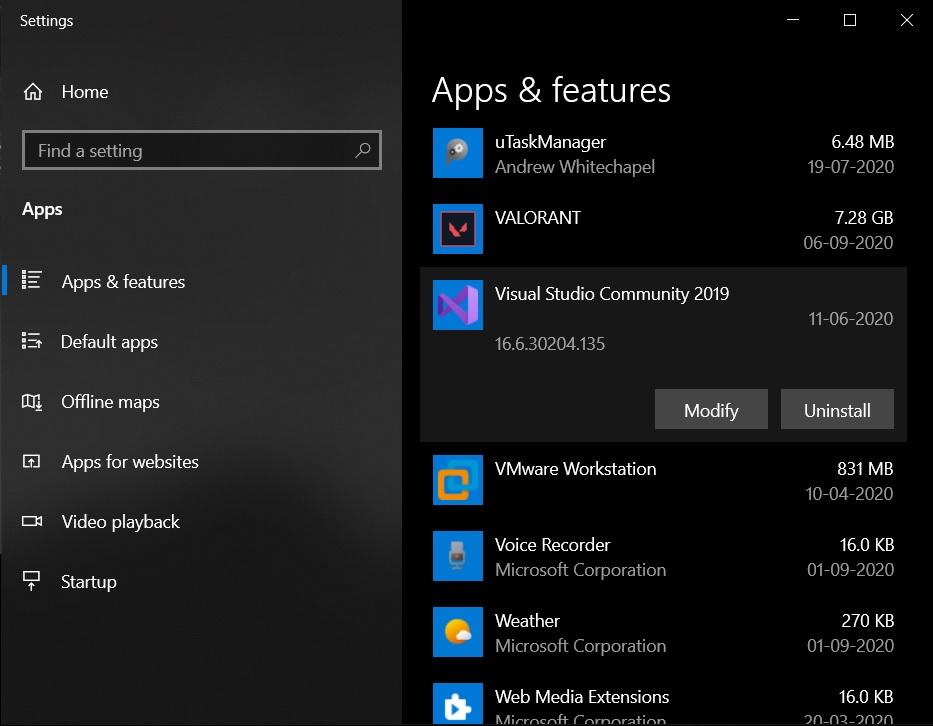 новая панель управления windows 10