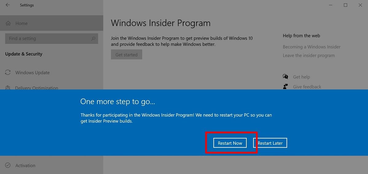 обновление Windows 10 October 2020 Update 4