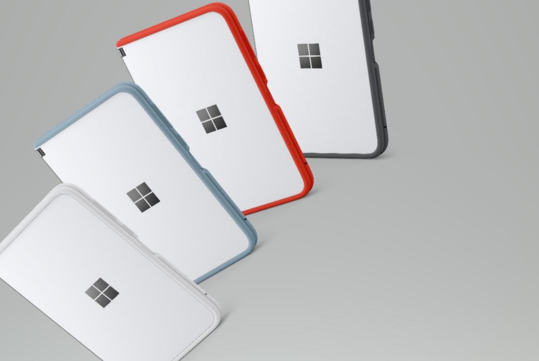 цветные чехлы для Surface Duo