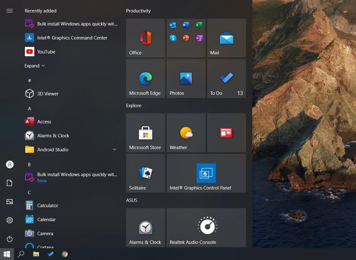 Что нового в Windows 10 October 2020 Update