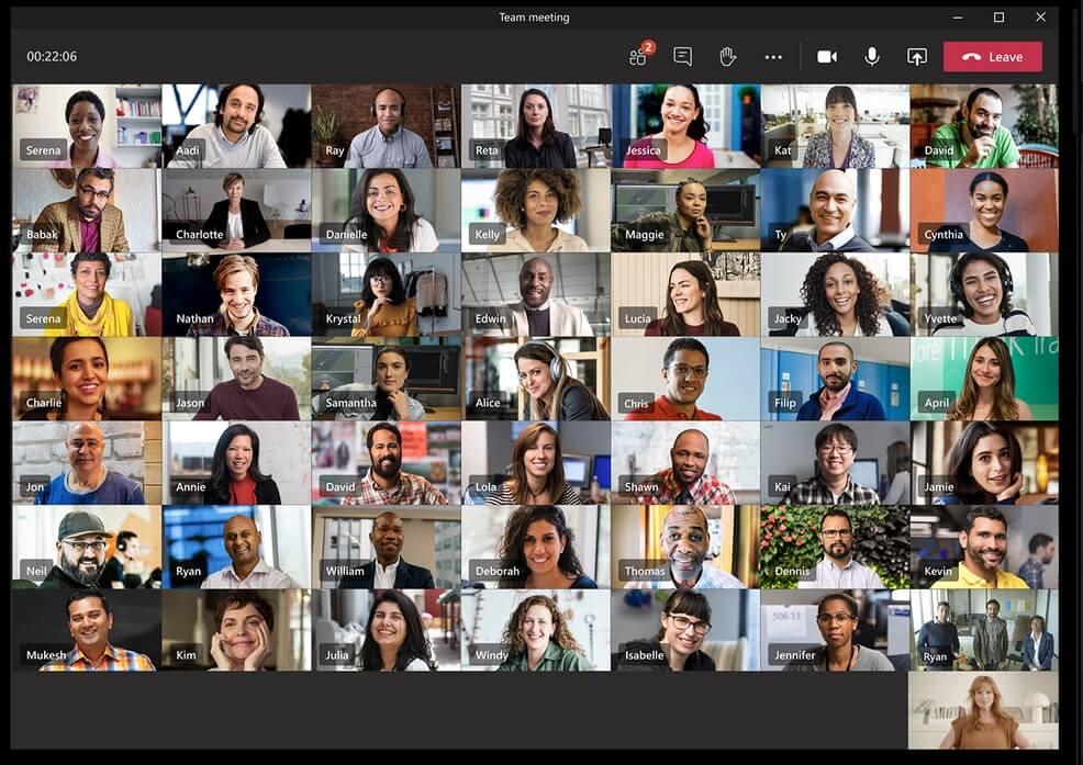 Microsoft Teams 49 участников (2)