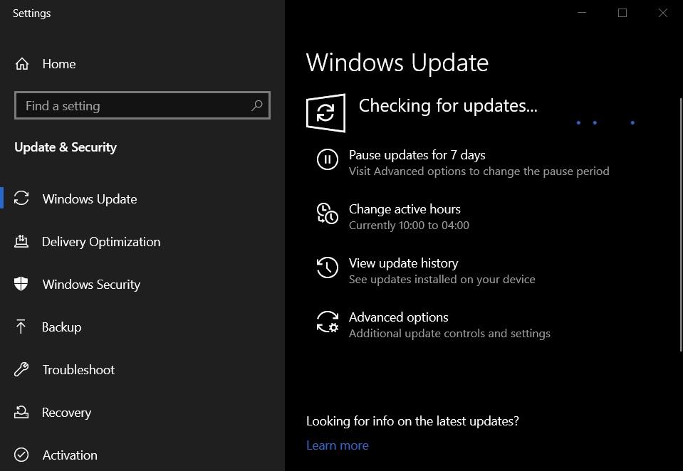 Обновления Windows 10 октябрь 2020