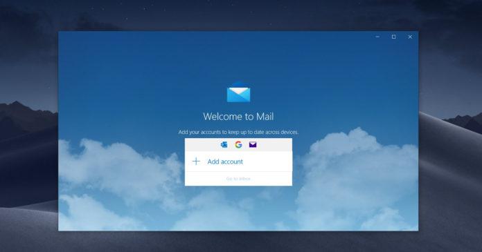 Outlook windows 10 обновление 2020