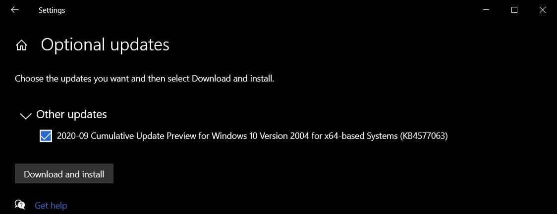 Патч исправления ошибки подключения к интернету в Windows 10