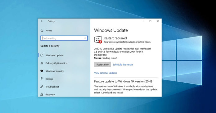 Windows 10 Build 19042.610 и Build 19041.610