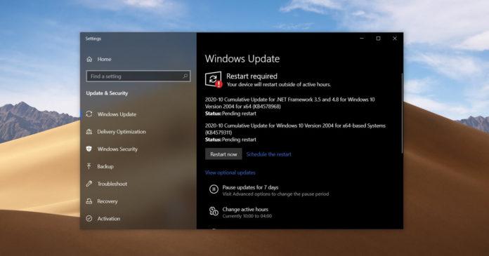 Windows 10 KB4579311