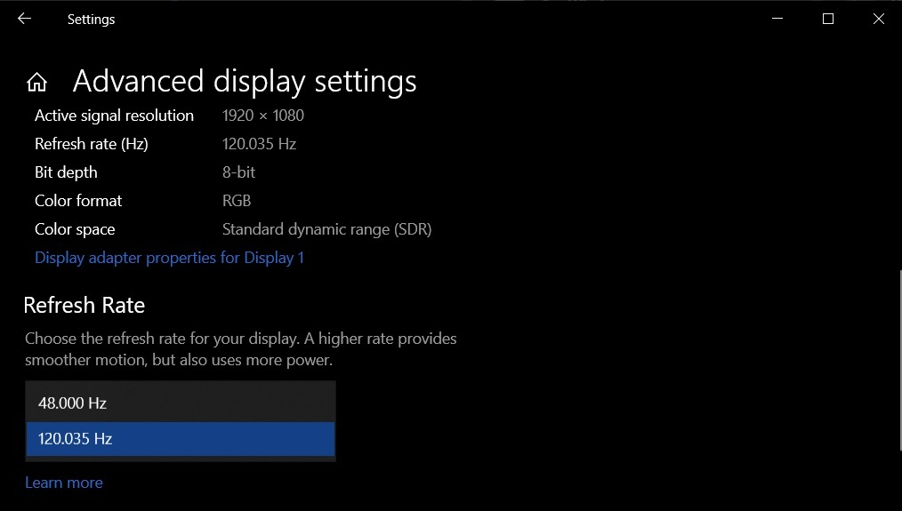 Windows 10 October 2020 Update настройки