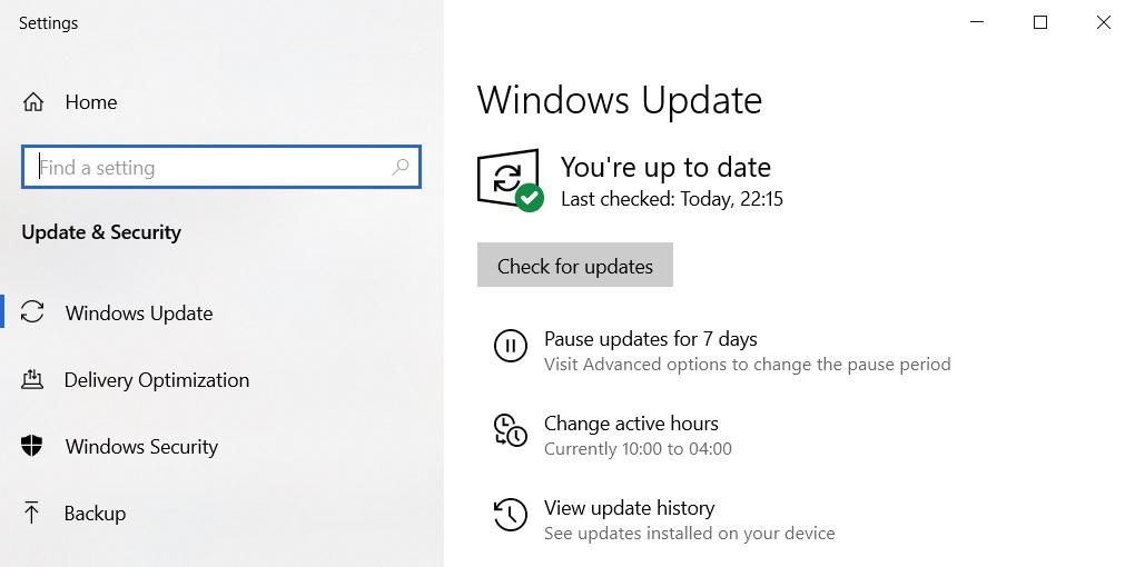обновление до Windows 10 версии 20H2 через центр обновлений