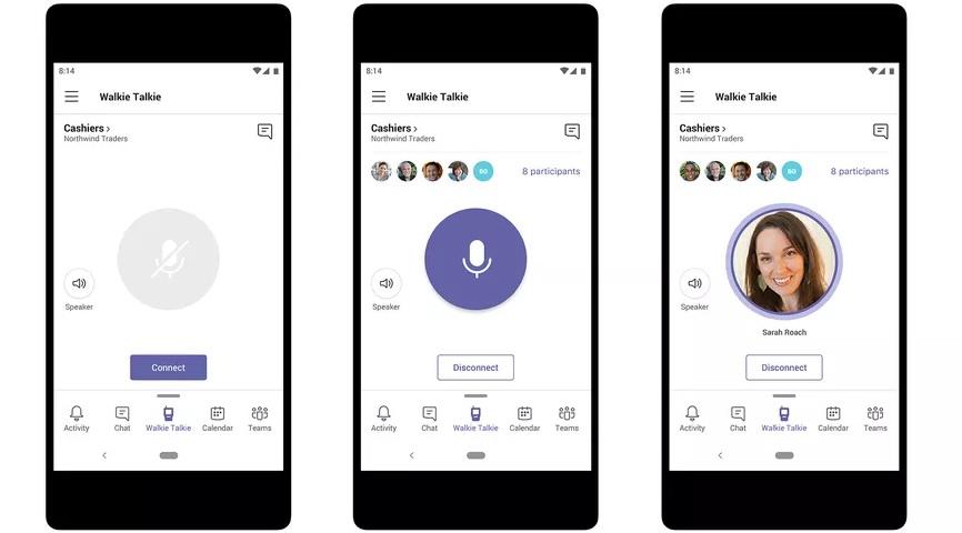 Microsoft Teams получит поддержку push-to-talk и цитируемые ответы