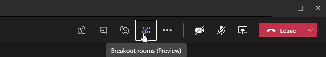 Microsoft Teams разделение комнат (2)