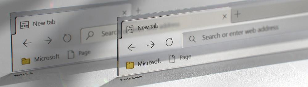 Новые иконки Fluent Design для Chromium Edge