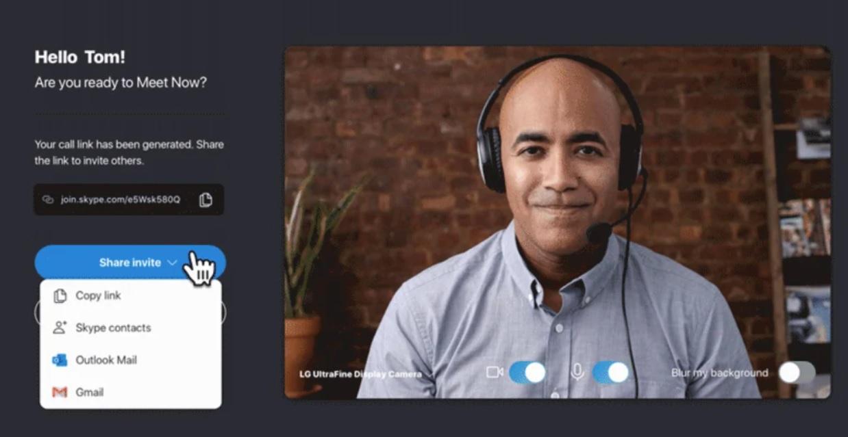 Новая функция собраний в Windows 10