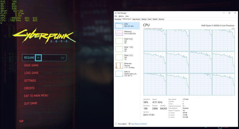 Как повысить ФПС в Cyberpunk на процессоре AMD