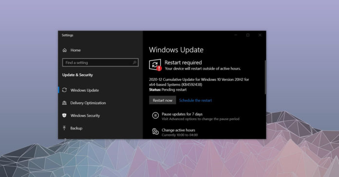 Обновления Windows 10 за декабрь 2020 года: что нового