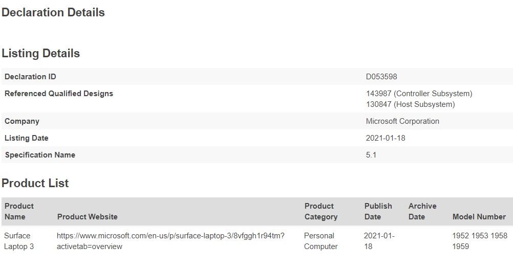Bluetooth SIG, ноутбук Surface