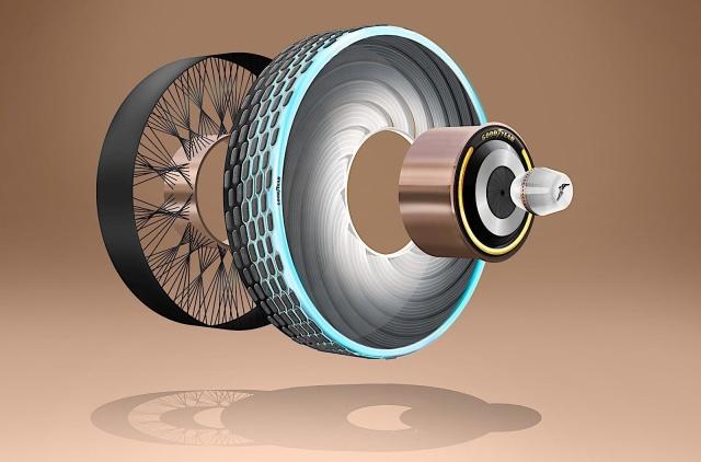 Goodyear создает технологически умные шины