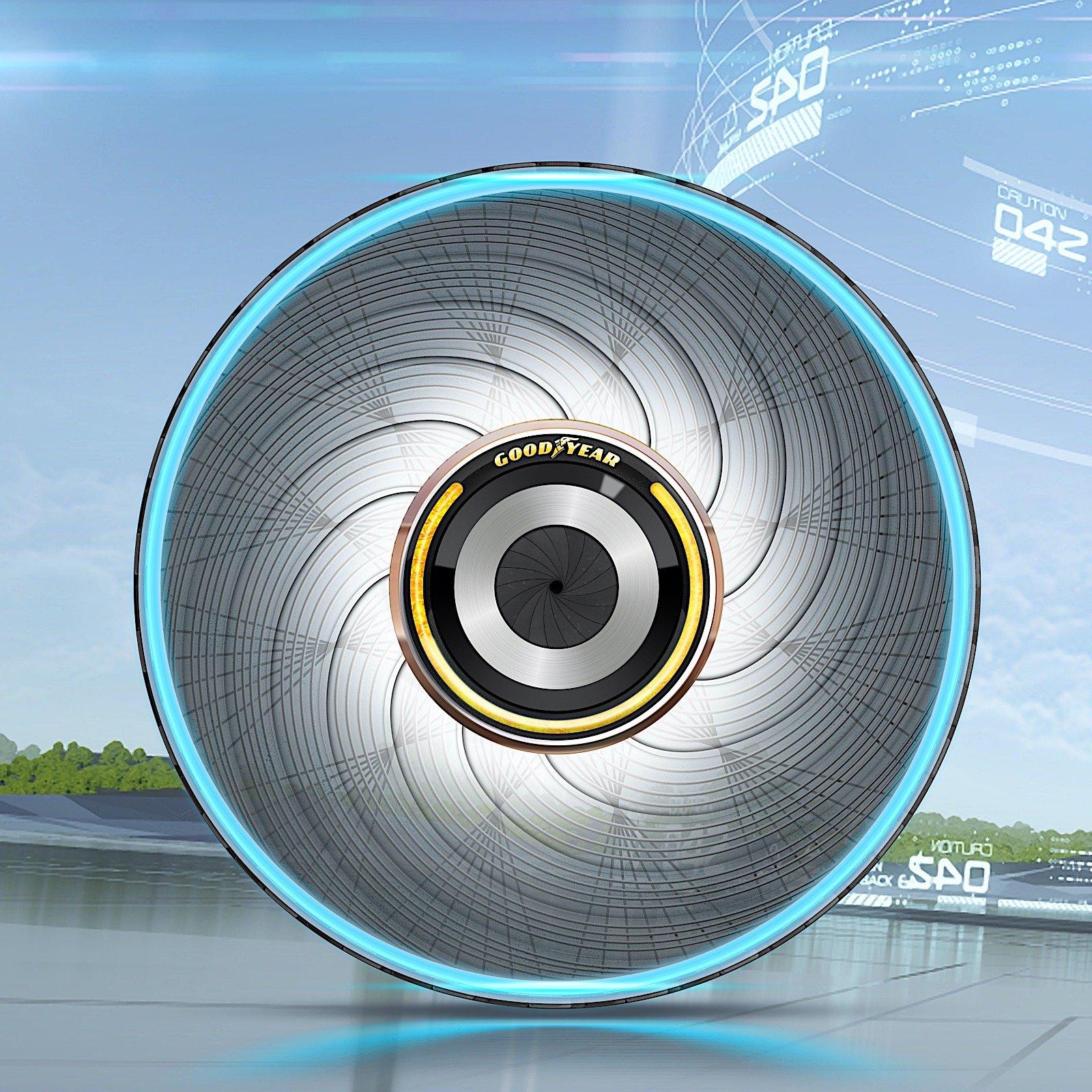 Goodyear  умные шины