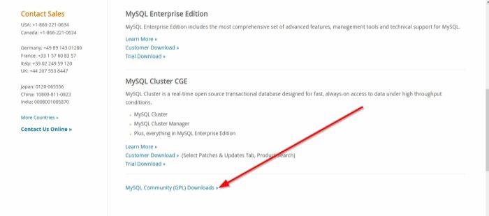Как скачать MySQL для Windows 10