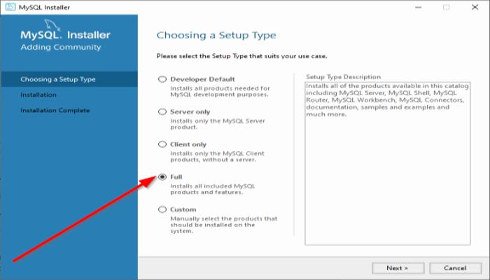 Как установить MySQL в Windows 10