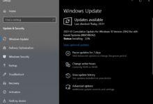 Photo of Windows 10 KB4598242 Скачать автономный установщик