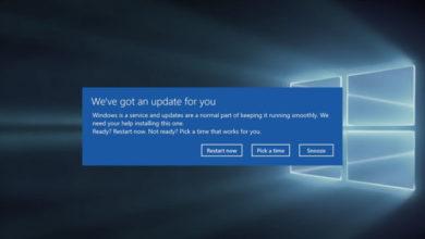 Photo of Microsoft исправляет ошибку Windows 10, которая вызывает принудительную перезагрузку