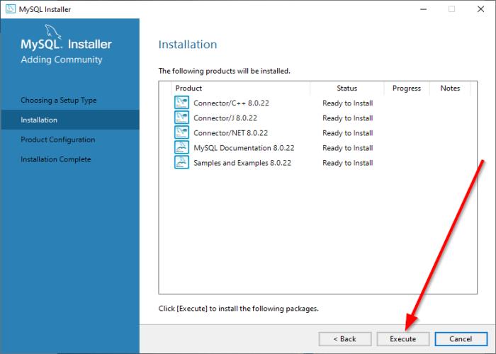 mysql сервер на windows 10