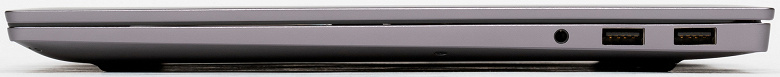 HONOR MagicBook Pro порт зарядки и порты USB