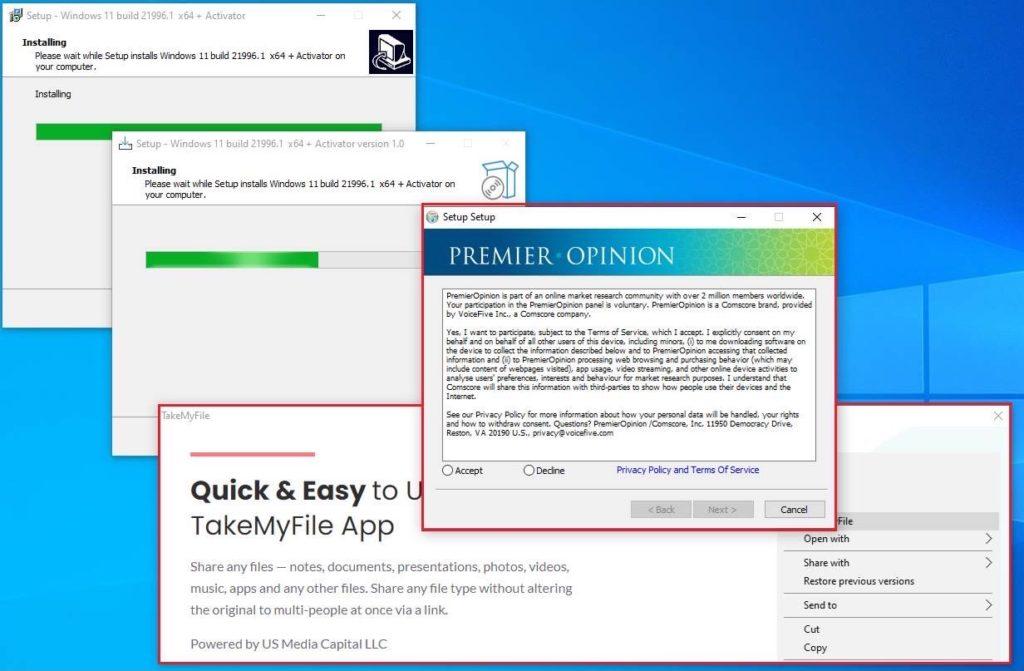 Хакеры используют поддельные установщики Windows 11 чтобы взломать ваш ПК