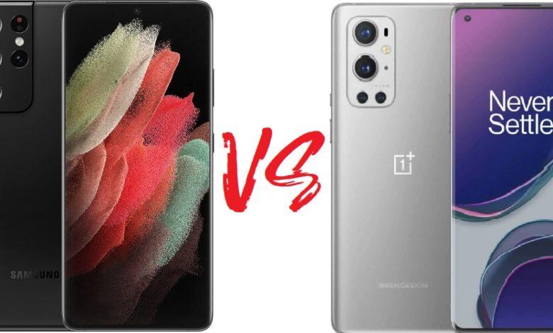 Photo of Сравнение телефонов: Samsung Galaxy S21 Ultra против OnePlus 9 Pro